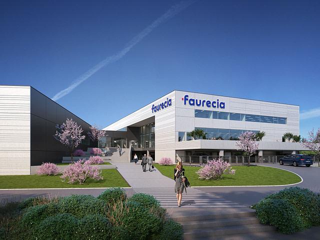Forschungszentrum Faurecia, Marienwerder