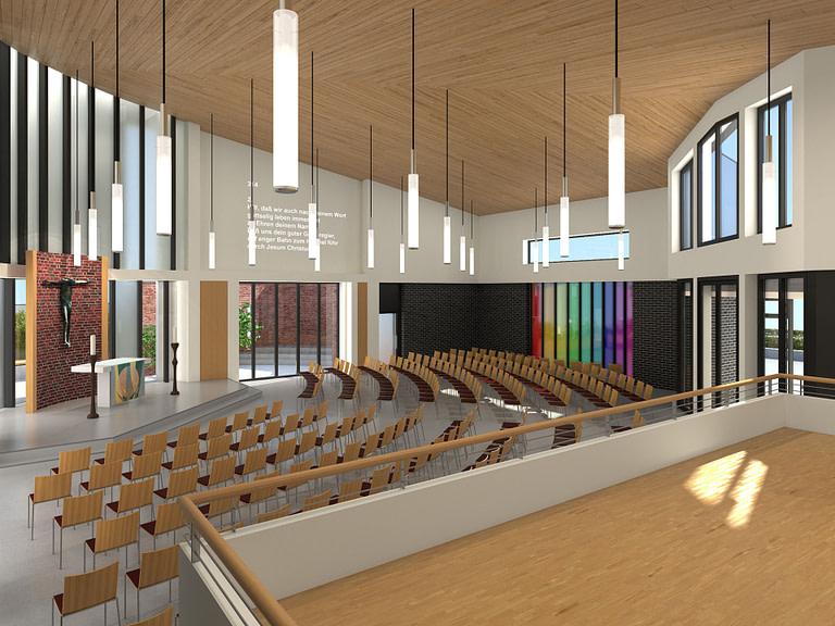 Neubau Willehadi Kirche Garbsen